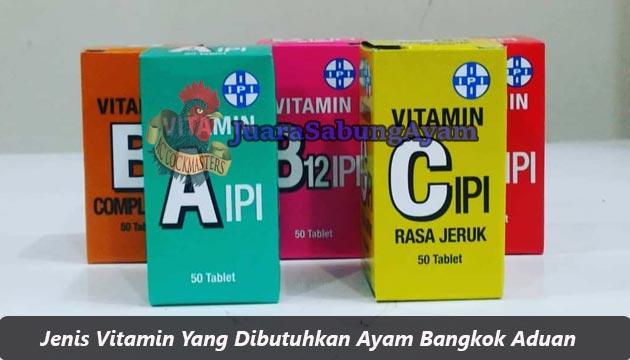 Jenis Vitamin
