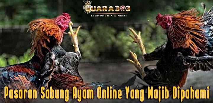 Pasaran Sabung Ayam Online Yang Wajib Dipahami